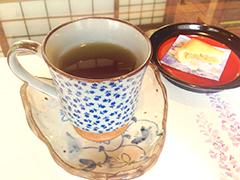 オーガニックレモングラスの ほうじ茶割り